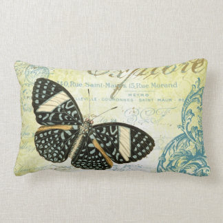 Vintage Explore Butterly...pillow Lumbar Pillow