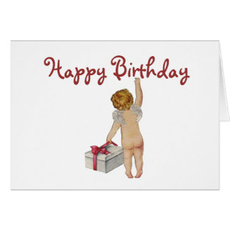 Vintage Expression Birthday Card