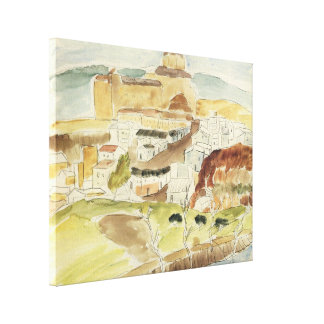 Vintage Expressionism, Almeria by Walter Gramatte Gallery Wrapped Canvas