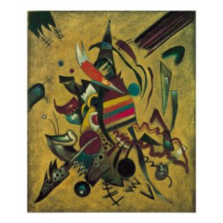 Vintage Expressionism, Points by Wassily Kandinsky Poster