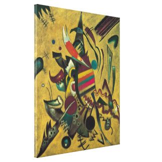 Vintage Expressionism, Points by Wassily Kandinsky Stretched Canvas Prints