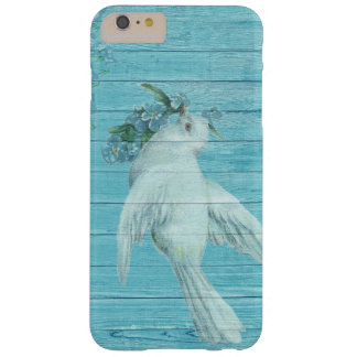 Vintage Exquisite Dove Carrying A Flower Bouquet Barely There iPhone 6 Plus Case
