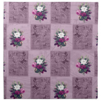 Vintage fabric napkin
