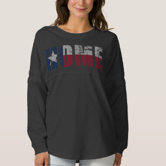 Vintage Fade Home Texas Flag Spirit Jersey