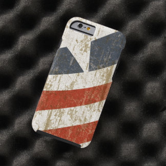 Vintage Faded American Tough iPhone 6 Case