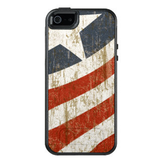 Vintage Faded American OtterBox iPhone 5/5s/SE Case