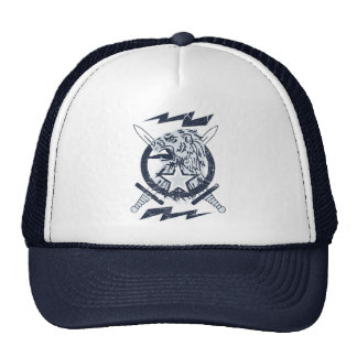Vintage Faded Lion Crest with real lightning! Cap