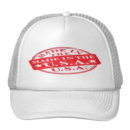 Vintage Faded: made In the U.S.A. Trucker Hat