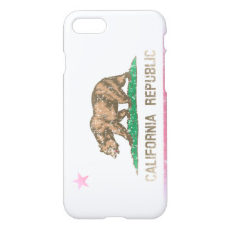 Vintage Faded State Flag of California Republic iPhone 8/7 Case