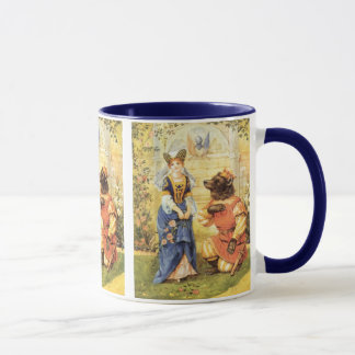 Vintage Fairy Tale, Beauty and the Beast