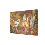 Vintage Fairy Tale, Enchanted Forest by Fitzgerald Stretched Canvas Prints
