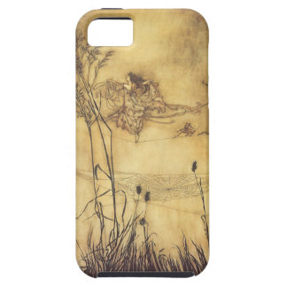 Vintage Fairy Tale, Fairy's Tightrope by Rackham iPhone 5 Covers