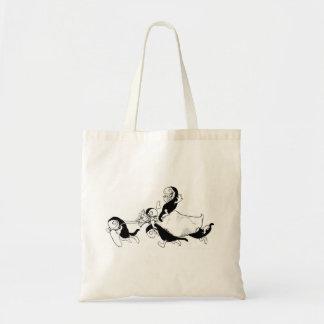 Vintage Fairy Tale Illustration Hobyahs Tote Bag