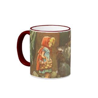 Vintage Fairy Tale, Little Red Riding Hood Mugs