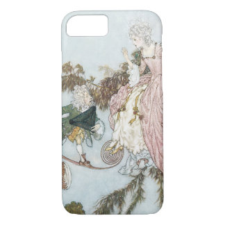 Vintage Fairy Tale Sleeping Beauty by Edmund Dulac iPhone 7 Case