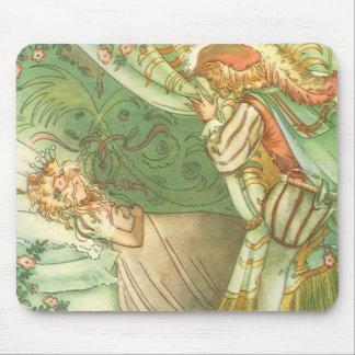 Vintage Fairy Tale, Sleeping Beauty Princess Mouse Pad