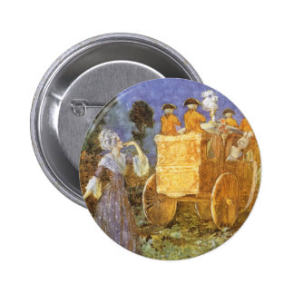 Vintage Fairy Tales Cinderella and Fairy Godmother 6 Cm Round Badge
