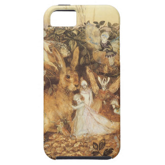 Vintage Fairy Tales, Rabbit Among the Fairies iPhone 5 Covers