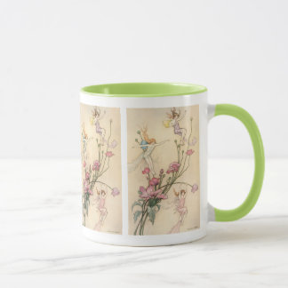 Vintage Fairy Tales, Three Spirits Filled With Joy Mug