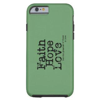 Vintage Faith Hope Love Case Tough iPhone 6 Case