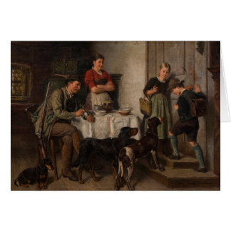 Vintage - Family Dogs, Card