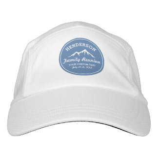 Vintage Family Reunion Trip Cool Mountain Peaks Hat