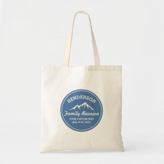 Vintage Family Reunion Trip Cool Mountain Peaks Tote Bag