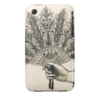 Vintage Fan Case iPhone 3 Cases