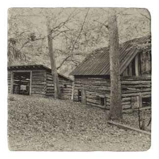 Vintage Farm Stone Trivet