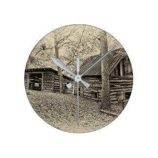 Vintage Farm Wall Clock