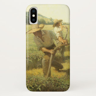 Vintage Farmers, Back to the Farm by NC Wyeth iPhone X Case