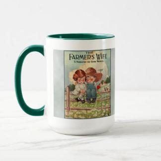 Vintage Farmer's Wife Mug