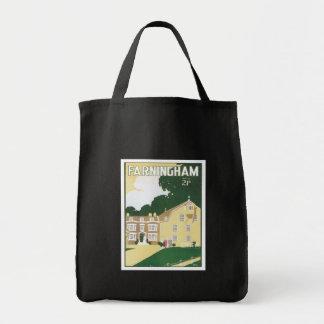 Vintage Farningham England Canvas Bags
