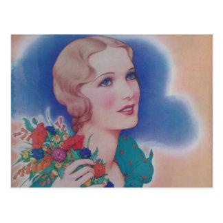 Vintage Fashion 1931 Post Cards