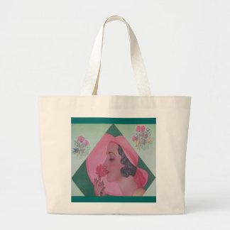 Vintage Fashion 1932 Jumbo Tote Bag
