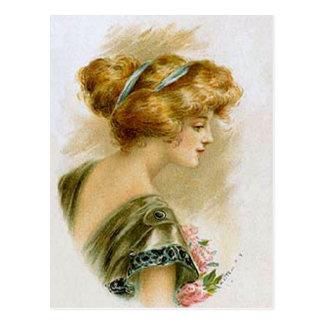 Vintage Fashion (9) Postcard