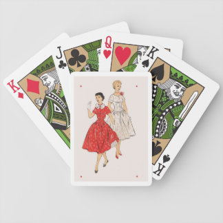 Vintage fashion - it's in the cards poker deck