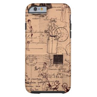 Vintage/Fashion/Postage iPhone 6 case