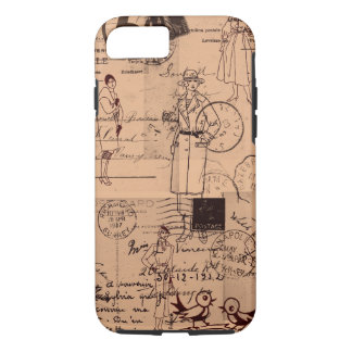 Vintage/Fashion/Postage iPhone 7 case