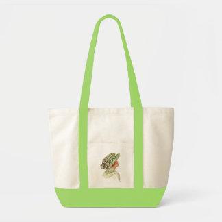 Vintage Fashion Tote - Garden Hats III Impulse Tote Bag