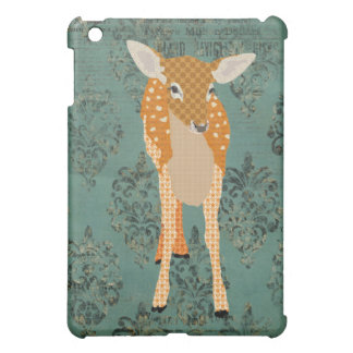 Vintage Fawn Damask Case For The iPad Mini