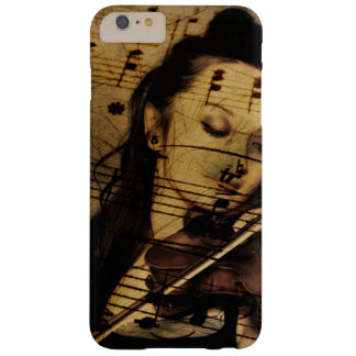 Vintage Feel Lady Playing Violin Music Phone Case