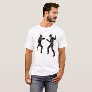 Vintage Fencing Typography T-Shirt