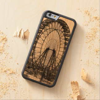 Vintage Ferris Wheel at Chicago World's Fair Carved Cherry iPhone 6 Bumper Case