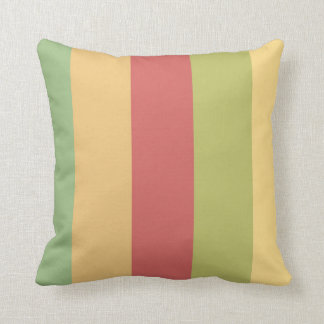 Vintage Ferris Wheel Palette Stripes Cushion