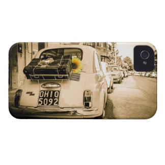 Vintage Fiat 500, Cinquecento in Italy Phone case