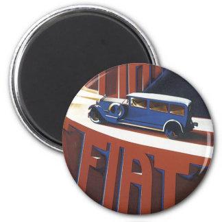 Vintage Fiat Magnet Magnet