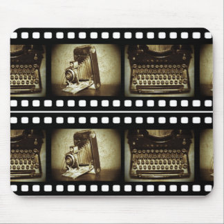 Vintage Film Mouse Pad