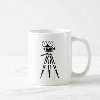 Vintage Film Movie Set Camera Coffee Mug