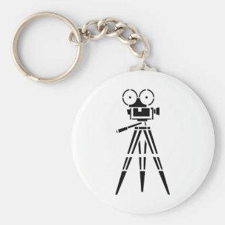 Vintage Film Movie Set Camera Key Ring